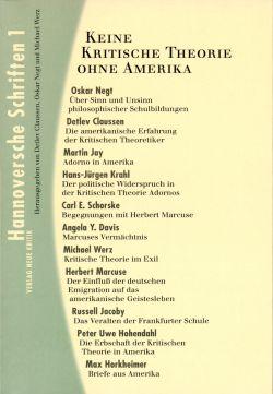 Hannoversche Schriften Band 1