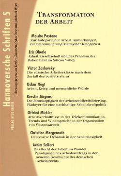 Hannoversche Schriften Band 5